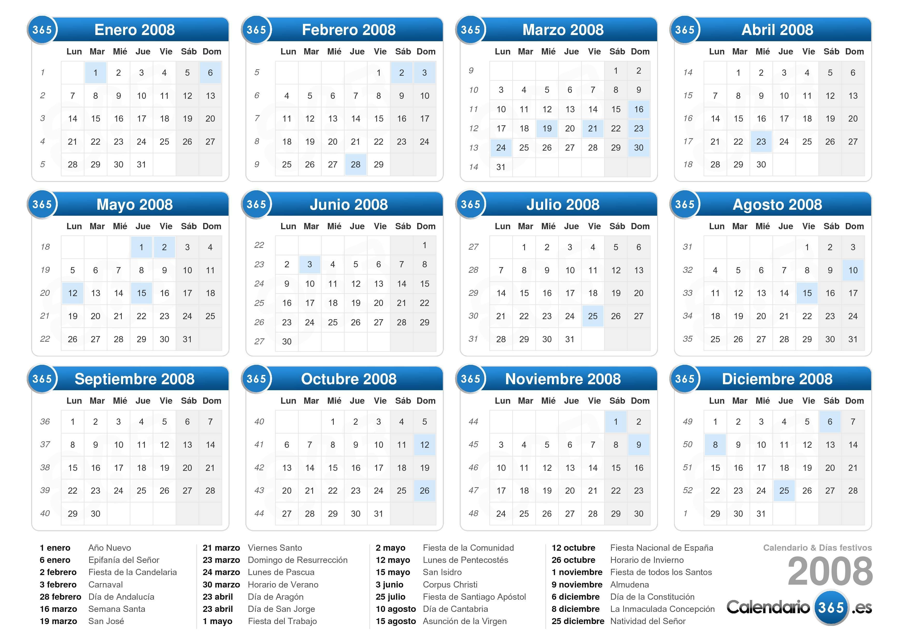 Calendar 365 | Calendar Template 2016