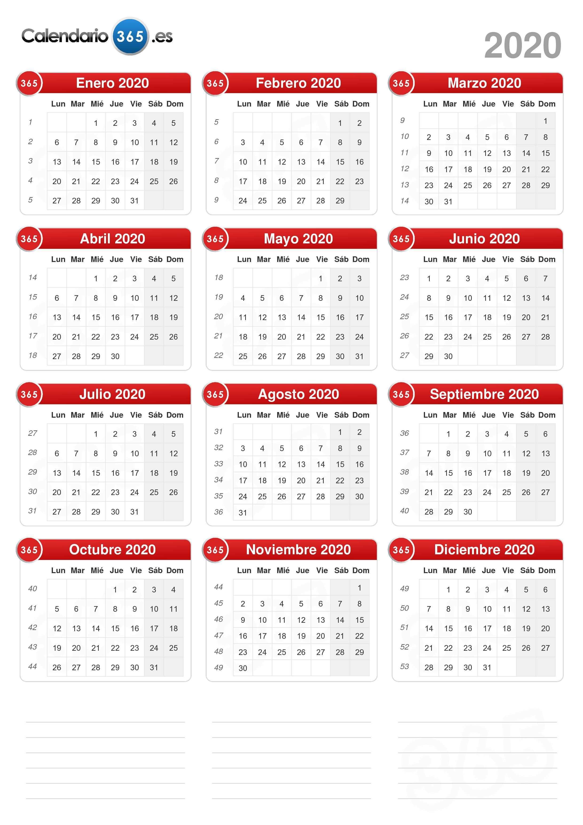 Calendario Escolar 2020 Sep Oficial.Calendario 2020